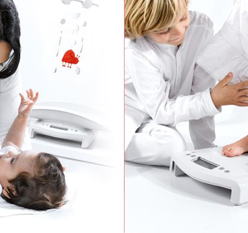Básculas Pediatricas